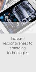 Increase responsiveness to emerging technologies